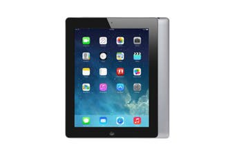 Apple iPad 4 Wi-Fi 16GB Black - Refurbished Fair Grade