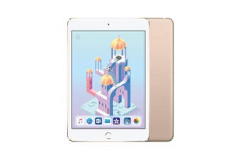 Apple iPad mini 4 Wi-Fi 128GB Gold - Refurbished Good Grade