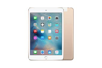 Apple iPad mini 3 Cellular 128GB Gold - As New
