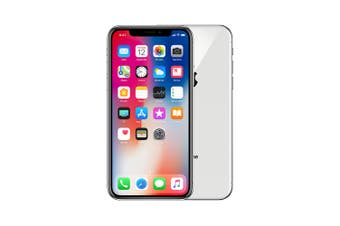 Apple iPhone X 256GB Silver - Refurbished Excellent Grade