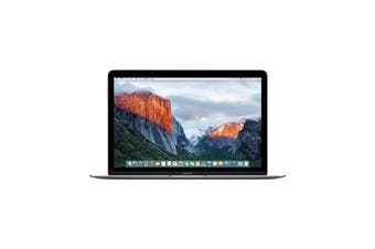 """MacBook 12 Early 2016 M7 1.3GHz 8GB RAM & 512GB SSD Space Grey Excellent """""""