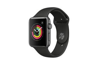 Apple Watch Series 3 GPS Stainless Steel 42mm Grey As New