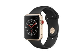 Apple Watch Series 3 Aluminium 42mm Cellular Gold - Refurbished Fair Grade