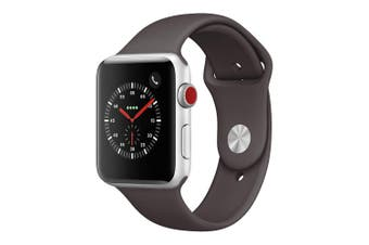 Apple Watch Series 3 Stainless Steel 42mm Cellular Silver - Refurbished Good Gra