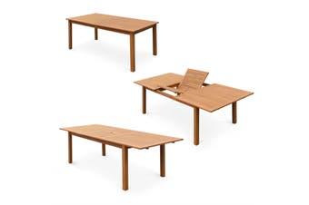 ALMERIA 8-10 Seater 180-240cm Extending Wood Table