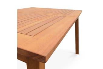 ALMERIA 8-10 Seater 180-240cm Extending Wood Table
