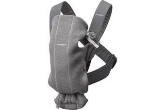 Babybjorn Mini Baby Carrier - Dark Grey 3D Jersey
