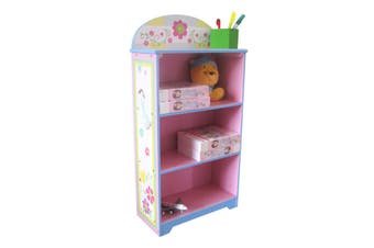 ALL 4 KIDS Girls Hand Painted Fairy Bookcase