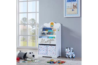 ALL 4 KIDS Madison White Bookcase Book Shelf Storage Unit