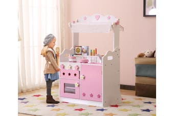 ALL 4 KIDS 2 In 1 Pretend Kitchen and Market Stall