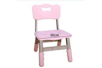 ALL 4 KIDS Adjustable Height Set of 2 Kid's Chairs - Pink