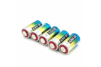 5x 4LR44 PX28A,A544,4LR44,K28A,V34PX,7H34,4A76,4NZ13,V4034PX,L1325,4G13,4034PX,PX28AB,6V Alkaline Battery for Citronella Spray Stop Barking Dog Collar