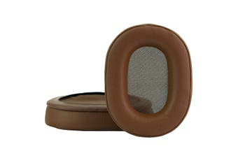 Brown Replacement Cushions Ear Pads for Audio Technica ATH-M50 ATH-M50X ATH-M50XBT ATH-M50S ATH-SX1 ATH-M40 ATH-M40S ATH-M40X ATH-M30 ATH-M20 Headphones