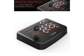 PC/PS4/PS3/Switch USB Fighting Stick Arcade Controller Gamepad Game Joystick