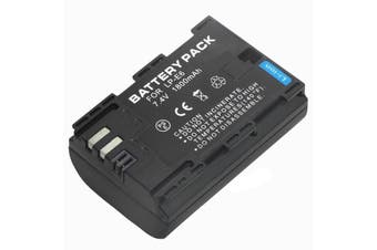 LP-E6 LP-E6N Replacement Battery For Canon 5D Mark II III IV,5Ds,6D,7D,60D,70D,80D DSLR Camera
