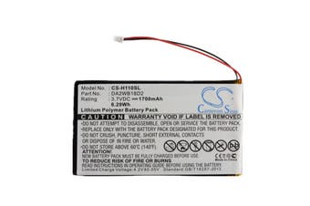 iRiver Digital Audio Player DAP MP3 H110,H120,H140,H320,H340 Replacement Battery, Part number DA2WB18D2