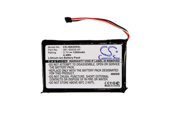 Battery for Garmin Nuvi 1100,2405,2447LT,2495LMT,2505LT,2547LMT,2555LMT,2595LMT,2597LMT,2557LMT,2789LMT,010-01316-00,361-00035-03,361-00035-07