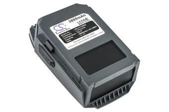 Replacement Battery for DJI Mavic Pro/Mavic Pro Platinum/Mavic Pro Alpine White Intelligent Flight, Part# GP785075-38300DB FB1-3830mAh-11.4V