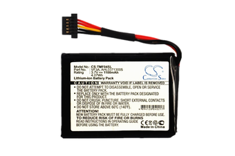 Battery for TomTom GPS Go 1000 1005 2435 2535 820 825,Go Live 2535M 820 825,XL 340M 340TM Live, AHL03711018 AHL03711022 AHL03713005 VF1C VF3A VF3M VF6M