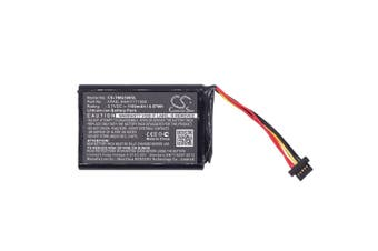 Replacement Battery for TomTom 4FL50, 4FL60, Go 5000, Go 5100, Go 6000, Go 6100, Pro 5250, Pro Truck 5250, AHA11111008, VFAD GPS
