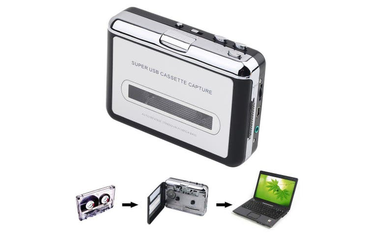 Tape to PC USB Cassette MP3 CD Converter Capture Digital Audio Music Player