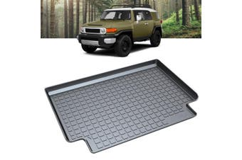 Heavy Duty Cargo Rubber Waterproof Trunk Mat Boot Liner Luggage Tray Fits Toyota FJ Cruiser SUV 2011 2012 2013 2014 2015 2016