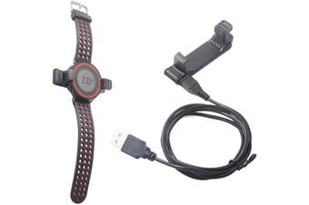 USB Charging Charger Cradle Adaptor Clip for Garmin Forerunner 220 GPS Running Watch