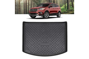 Heavy Duty Cargo Rubber Waterproof Trunk Mat Boot Liner Luggage Tray Fits Ford Kuga 2012-2016 and Ford Escape 2016-2020