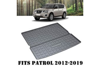 Waterproof Cargo Rubber Trunk Mat Boot Liner Luggage Tray Fits Nissan Patrol 2012-2020 Y62 Series