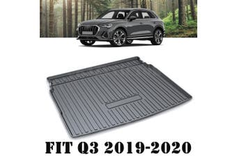 Heavy Duty Cargo Rubber Waterproof Trunk Mat Boot Liner Luggage Tray Fits Audi Q3 2019-2020 SUV