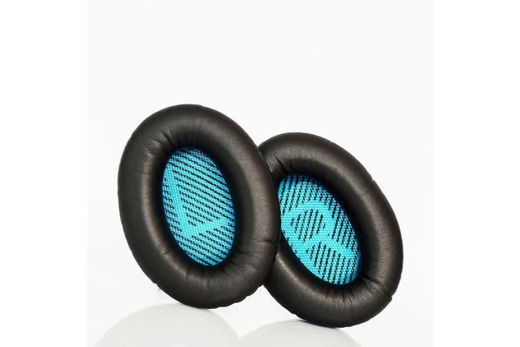 Black Replacement Ear Pads Cushions for Bose QuietComfort 2 QC2 15 QC15 25 QC25 SoundLink Around-Ear II 2 AE2 AE2i AE2w SoundTrue Around-Ear II Wireless Headphones