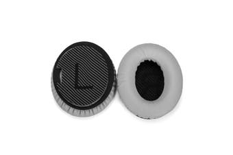 Grey Replacement Ear Pads Cushions for Bose QuietComfort 35 QC35 I II Headphone
