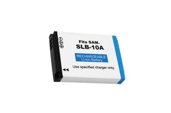 Samsung SLB-10A Camera Camcorder Replacement Battery