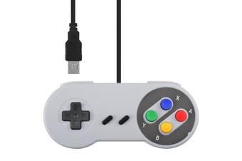 Classic SNES SFC Style Retro Game USB Controller Gamepad Joystick Joypad For PC MAC Windows