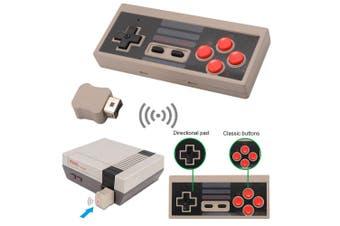 2.4G Wireless Controller Gamepad Joypad for Nintendo Mini NES Classic / SNES Mini Console