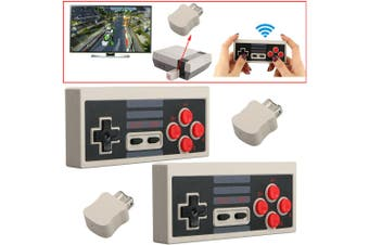 2 of 2.4G Wireless Controllers Gamepads Joypads for Nintendo Mini NES Classic / SNES Mini Console