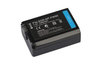 Replacement Battery for Sony Camera NP-FW50 Alpha a3000 a3500 a37 a5000 a55 a5100 a6000 a6300 a6400 a6500