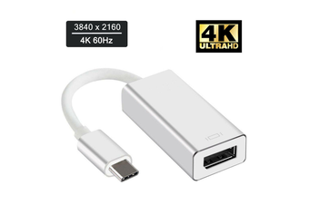 USB 3.1 Type C to Display Port DP 4K Video Adapter Cable for iMacs/ Mac Mini/ MacBook Pro Air/Surface Book 2/Dell XPS 13 15/Samsung S8 S9 note 8 9