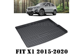Heavy Duty Cargo Rubber Waterproof Trunk Mat Boot Liner Luggage Tray Fits BMW X1 F48 2015 2016 2017 2018 2019 2020 SUV