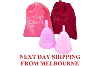 Allure Silicone Reusable Menstrual Cup