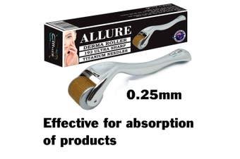 Genuine Allure Derma Roller 192 Titanium Microneedles 0.25mm
