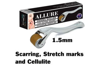 Allure Derma Roller 192 Titanium Microneedles 1.5mm