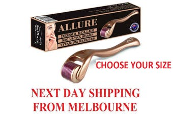 Allure Derma Roller 540 Titanium Needles 0.25mm-2.5mm