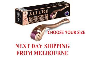Allure Derma Roller 540 Titanium Needles 0.25mm-2.5mm