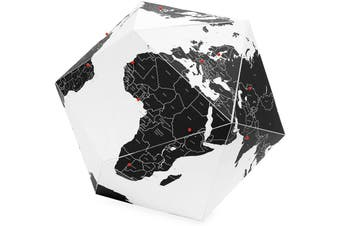 Here By Country Paper Globe Medium