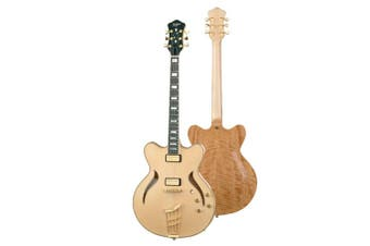 Hofner Verythin Classic Electric Guitar c/w Deluxe Hard Case  RRP $5,979