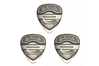 Dava Master Control Nickel Silver Pick - 3 Pack