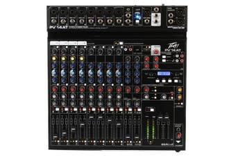 Peavey PV 10 AT  10 Channel Mixer with Auto-Tune and Bluetooth