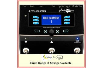 TC Helicon Play Acoustic Voice Harmony Processor for Acoustic Guitarists