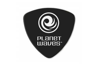 Planet Waves Black Celluloid Guitar Picks, 10 pack, Extra Heavy, Wide Shape